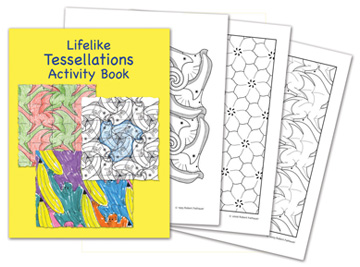 Lifelike Tessellations Activity Book