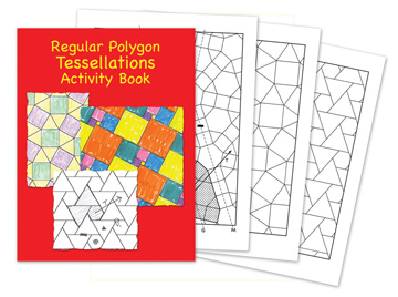 Regular Polygon Tessellations Activity Book